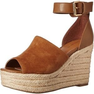 Platform Wedge with Ankle Strap